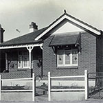 War service home, Dalley Street, Bexley, Sydney, New South Wales. PN-002070