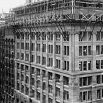 Construction of the Commonwealth Bank of Australia's head office nearing completion, Sydney, 23 February 1916. PN-000784