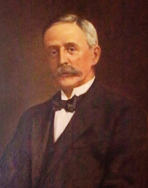 Portrait of Governor Denison Miller, first Governor of the Commonwealth Bank of Australia