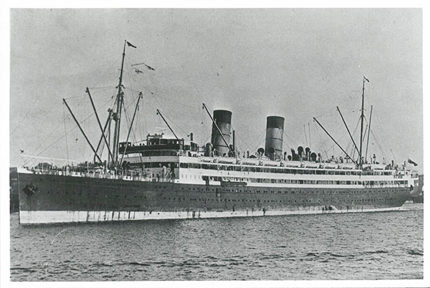 Image of the RMS Niagara